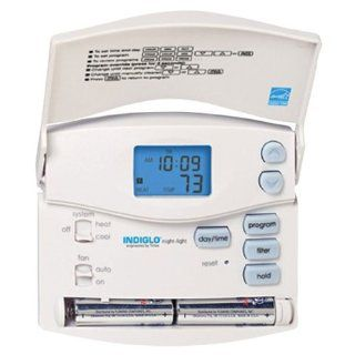 Fans 5/2 Day Programmable Digital Thermostat with Indiglo Model 44155C