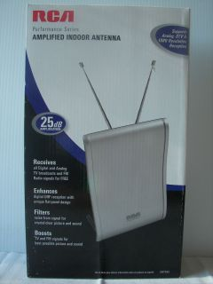 RCA Flat Amplified Indoor Performance Series Antenna HDTV SDTV Ant 585