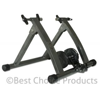 New Indoor Exercise Bike Bicycle Trainer Stand W/ 5 Levels Resistance