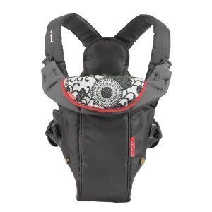 New Infantino Infant Baby Swift Classic Carrier Black