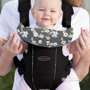 NEW Infantino EuroRider Baby Carrier Sling Free Fleece Cover 8 26 lbs