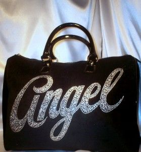 Victorias Secret Bling Angel Hand Bag Purse Travel Luggage Tote Gift