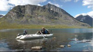 14ft Saturn Inflatable Kayak Boat Kaboat SK430 Red Only 2012 Model