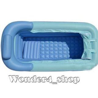 PVC folding Portable bathtub inflatable bath tub Air Pump Express ship