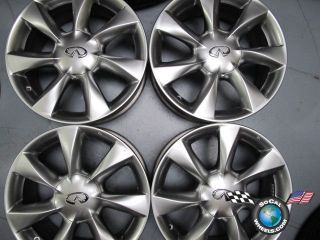 Four 08 10 Infiniti EX35 Factory 17 Wheels OEM Rims 73699 D03001BA2A