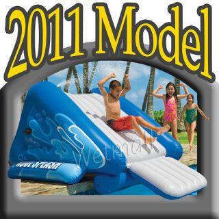 New 2011 Intex Inflatable Swimming Pool Water Slide