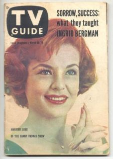 18 1961 TV Guide Ingrid Bergman Marjorie Lord