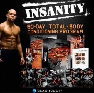Insanity Workout 13 DVDs 60 Day Workout Shaun T