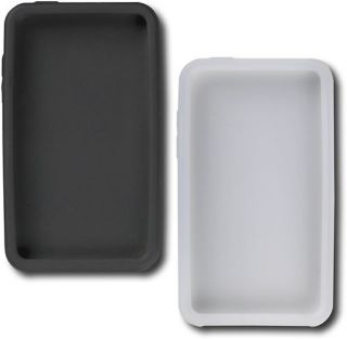 Init 2 Silicone Rubber Cases White Black for Apple iPod Touch NT MP430