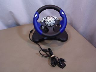Intec Universal Steering Wheel Xbox PS2 GameCube