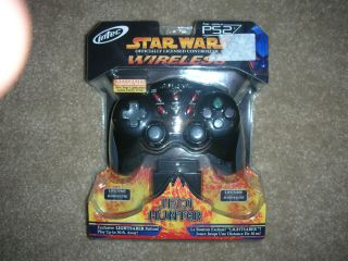 Intec WIRELESS Controller STAR WARS JEDI HUNTER PS2 Exclusive