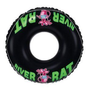 47 River Rat Inflatable Flaoting Water Tube Toys Pool Lake Tubing
