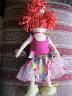 Madame Alexander 18 Cloth Fancy Nancy Doll Plush in good condition