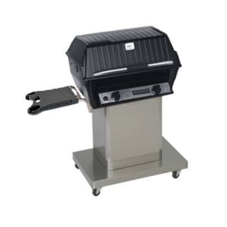 Infrared Propane Gas Grill with (1) One Cart and (1) One Side Shelf