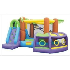Jumper Inflatable Bounce House with Slide Gift for Kids Birthday Party