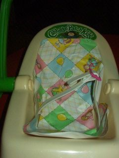 Vintage 1983 Cabbage Patch Kids Doll Toy Car Seat Carrier Doll 1990