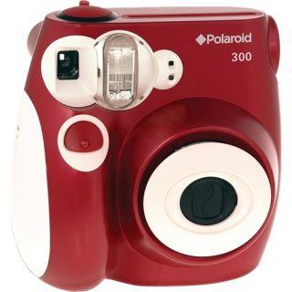 Polaroid 300 Instant Camera Red