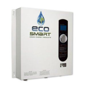 EcoSmart Electric Tankless Hot Water Heater Home Bath Shower Sink