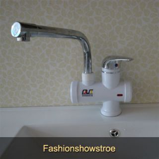 Sink Mounted Instant Electric Water Heater Cold Hot Mixer Tap H8