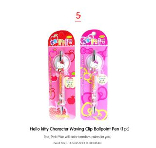 Hello kitty Writing Instruments set ver1_Colored Pencils, Fluorescent