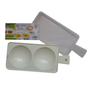 Cup Instant Cook Microwave Egg Cooker Poacher Kitchen