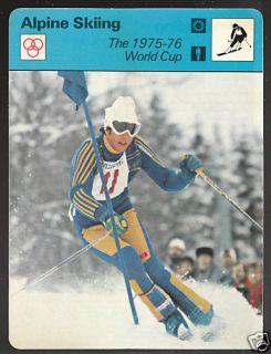 Ingemar Stenmark 1979 Alpine Skiing SPORTSCASTER Card