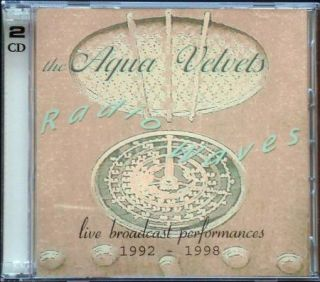 Waves 2CD RARE Mysterious Surf Guitar Instrumentals Promo CD
