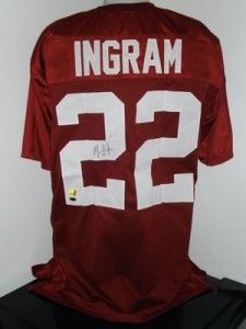 Mark Ingram Autographed Alabama Crimson Tide Jersey PSA