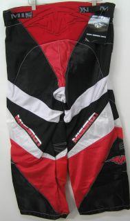 Mission H750 H 750 Roller Hockey Pants Jr Junior Black Red L New