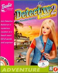 Detective 2 The Vacation Mystery PC CD kids girls doll adventure game
