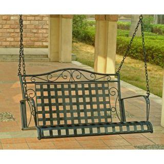 International Caravan Iron Patio Porch Swing 3451 EP