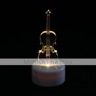 USD $ 5.59   Violin Design Colorful LED Night Light Christmas Festival