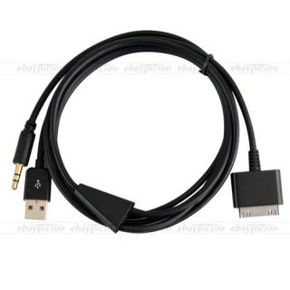 USB 3 5mm Aux Interface Cable for iPod iPhone Ford Kuga