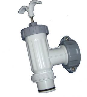 INTEX ABOVE GROUND SWIMMING POOL PUMP ON SHUT OFF PLUNGER VALVE