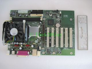 Intel D845EBG2 Socket 478 Motherboard Pentium 4 P4 2 40GHz CPU Fan I O