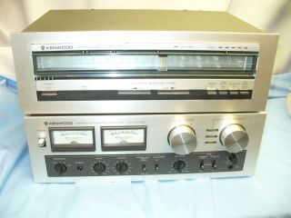 KENWOOD INTEGRATED AMPLIFIER AMP KA 405 + KENWOOD KT 413 STEREO TUNER