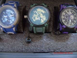 Invicta Russian Diver Watches with 3 Slot Divers Case