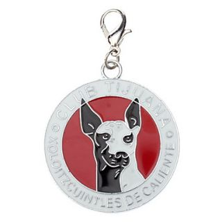 USD $ 2.59   Dog Pattern Rounded Style Collar Charm for Dogs Cats