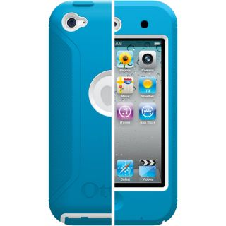 Otterbox iPod Touch 4G Defender Case Blue and White