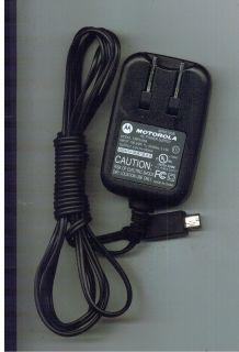 Motorola Model FMP5185B Mini USB Cell Phone Charger SPN5185B