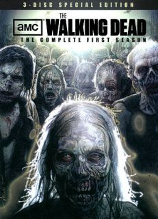 Walking Dead The Complete First Season DVD 2011 3 Disc Set Special