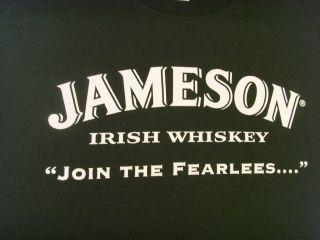 Tee Shirt Jameson Irish Whiskey Fearlees Sine Metu Jameson Century