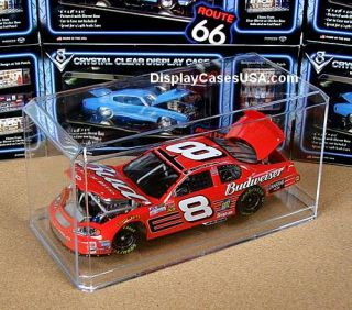 New 1 24 Scale Clear Display Case for IRL F1 Cart NASCAR Diecast Model