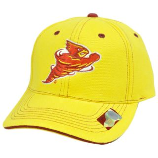 NCAA Iowa State Cyclones Hat Cap Constructed Cotton Adjustable Velcro
