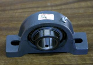 Link Belt P3 U224N Ball Bearing Pillow Block 2 Bolt Cast Iron