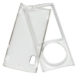 Clear Hard Case Cover iPod Nano 5 5th Generation Gen 5g