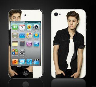 iPod Touch 4th Gen Justin Bieber Boyfriend Skins Vinyl Decals iTouch 4