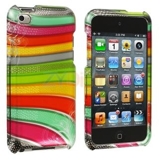 Hard Skin Case Cover Accessory for iPod Touch 4th Gen 4G 4
