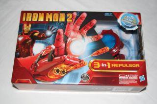 2010 Iron Man 2 3 in 1 Wrist Repulsor Roleplay Set