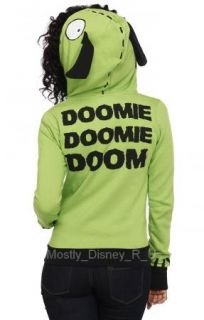 Invader Zim I Am Gir Costume Giant Zipper Zip Front Jacket Hoodie